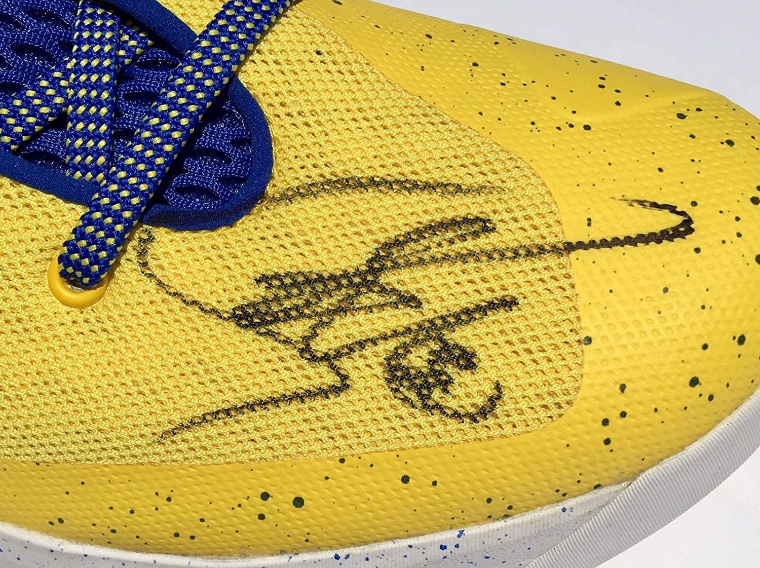 60cf1d84b7fd5 Stephen Curry 0 Signed Under Armour 3Zer0 Basketball Shoes With- JSA ...