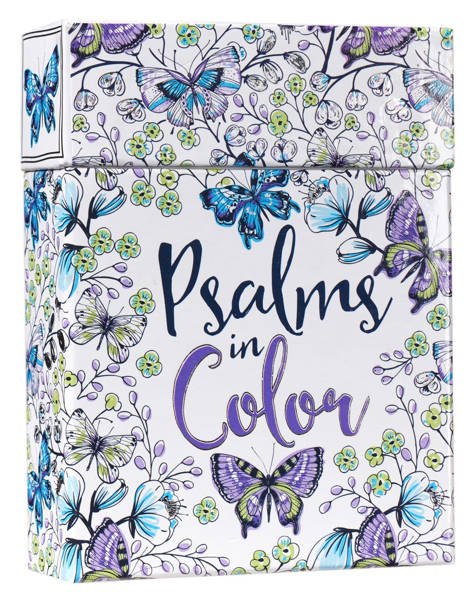 amazon com psalms in color cards to color and share