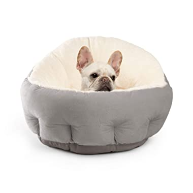 Best Friends by Sheri OrthoComfort Deep Dish Cuddler (Multiple Sizes) – Self-Warming Cat and Dog Bed Cushion for Joint-Relief and Improved Sleep – Machine Washable, Waterproof Bottom