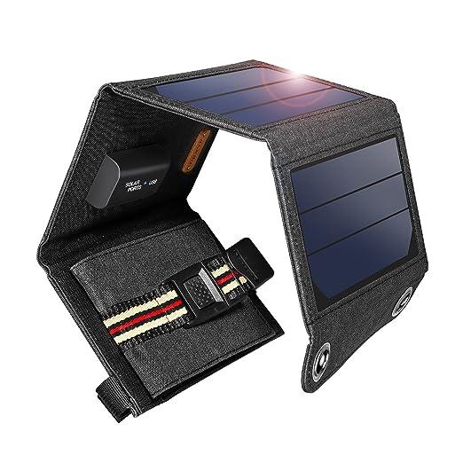 20 opinioni per Suaoki 7W Pannello Solare Portatile SunPower Smart IC e Tecnologia TIR-C