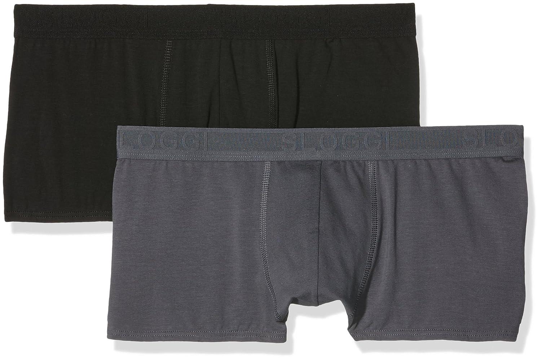 fca007243f Sloggi Men Evernew Hipster 2 Pack Brief Boxers 95% Cotton Sizes 32 34 36 38  40 Unterwäsche