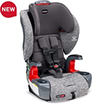 Britax Grow with You ClickTight Harness-2-Booster Car Seat - 2 Layer Impact Protection - 25 to 120 Pounds, Asher [Newer Vers