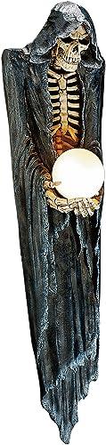 Design Toscano The Grim Reaper Illuminated Wall Sculpture
