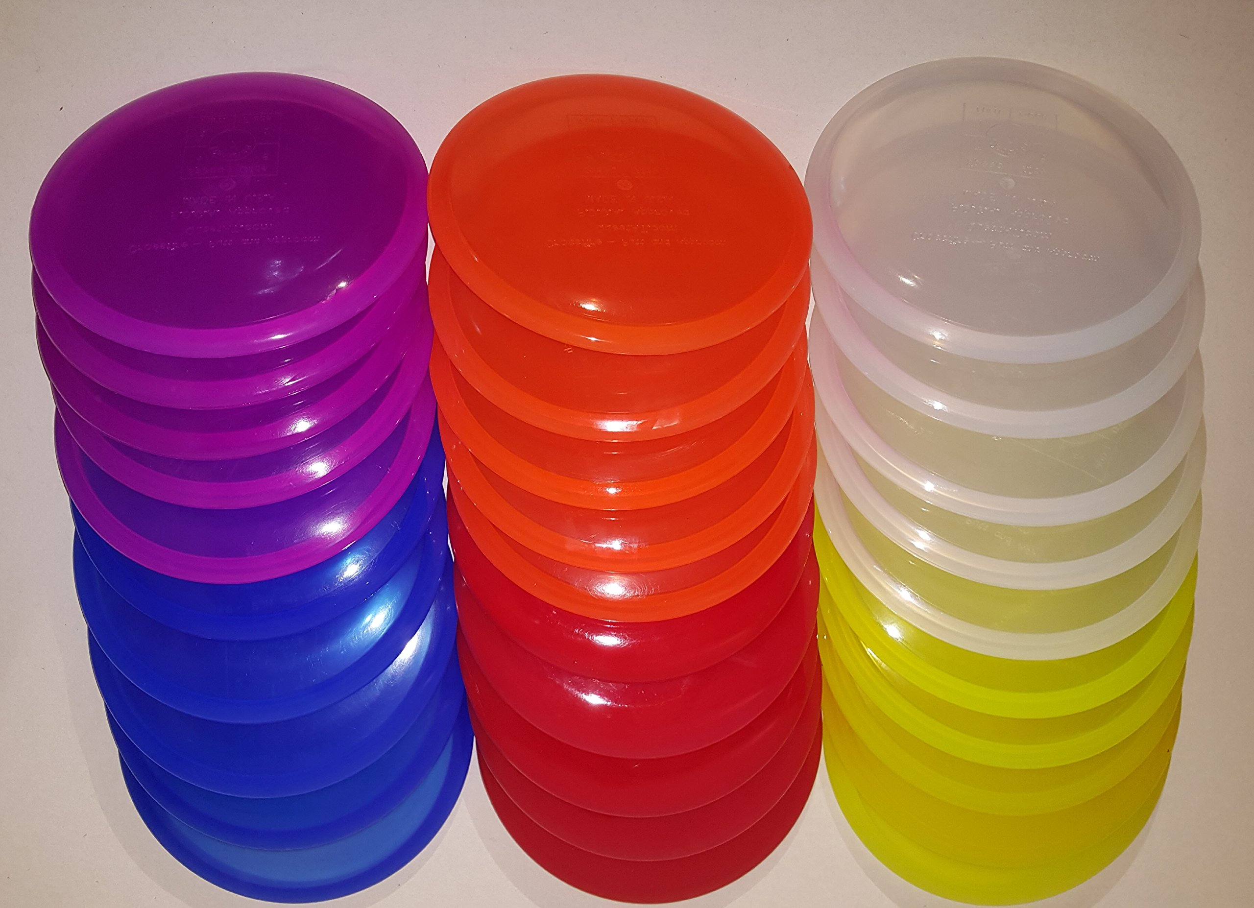 Quest AT 30 Piece Blank Crossfire Disc Golf Discs Set