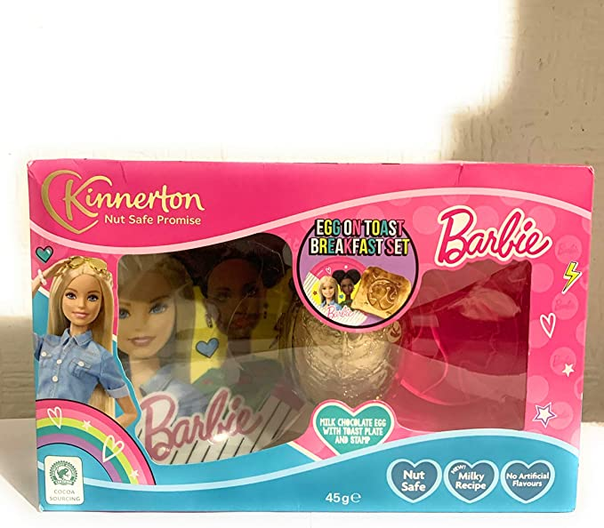 Set de regalo de huevos de Pascua de Barbie con huevo en tostadas ...