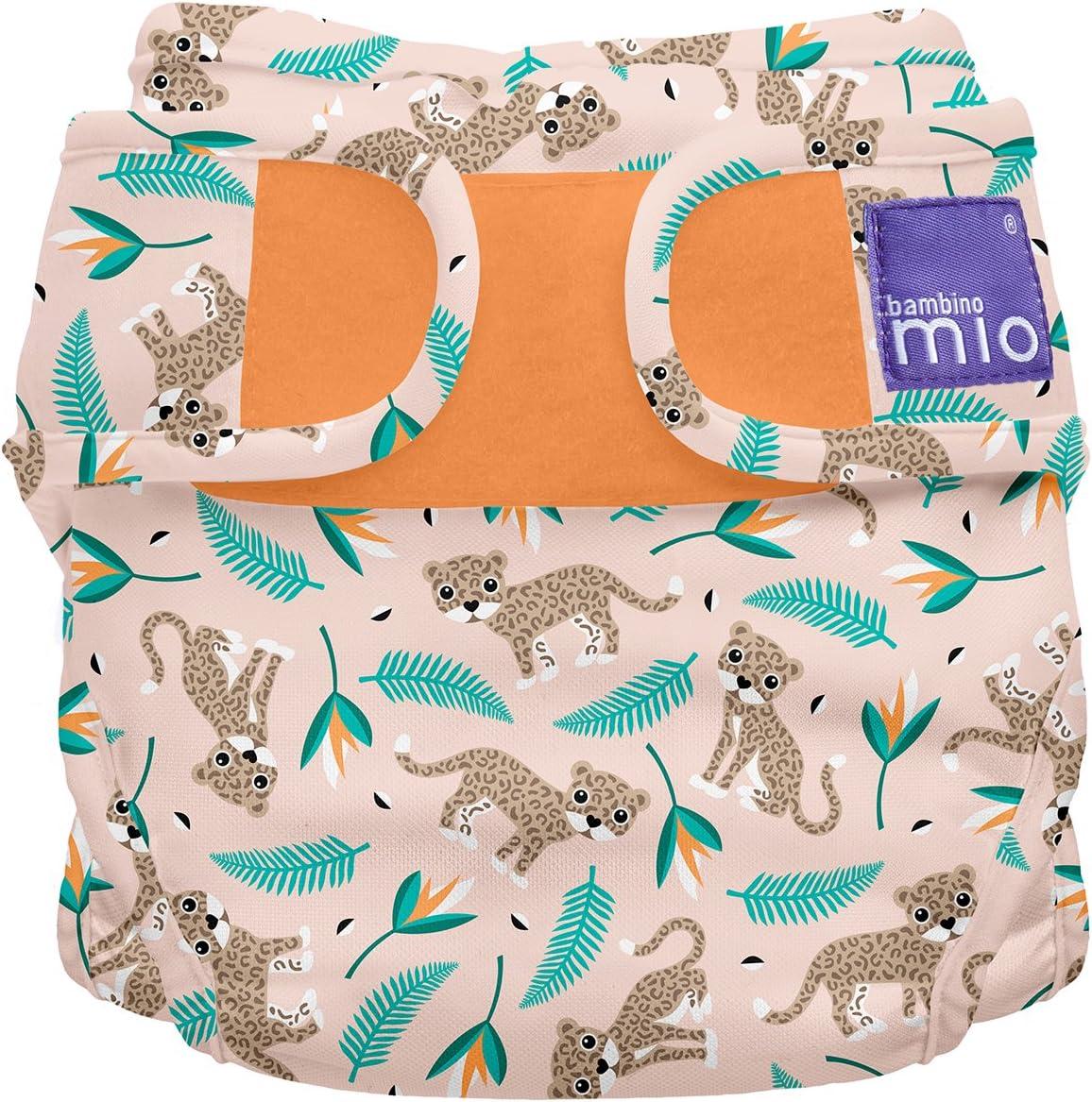 Bambino Mio, miosoft cobertor de pañal, gato salvaje, talla 2 (9 kg+)