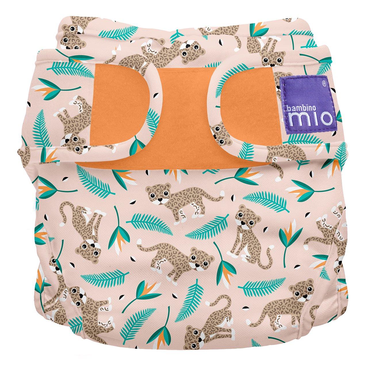 Size 2 Bambino Mio Miosoft Reusable Nappy Cover Bumble 9kg+