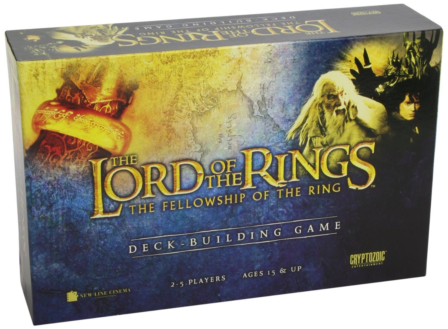 【初回限定お試し価格】 Lord of The The Rings: The Fellowship The of Deck The Ring Deck Building Game[並行輸入品] B01LXCJ54Z, BUNSEIDOスポーツ:4ace1b97 --- arianechie.dominiotemporario.com