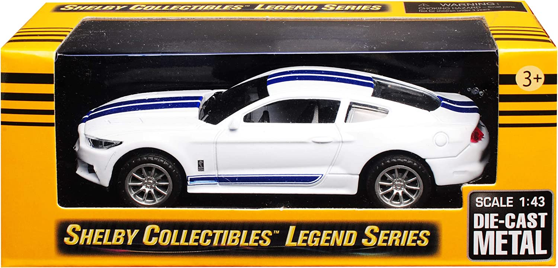 Shelby Mustang GT350 Modellauto Fertigmodell Collectibles 1:43 Weiss//blau 2016