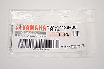 Yamaha 537 - 14186 - 00 - 00 pin, flotador; ATV moto nieve funda para Scooter partes: Amazon.es: Coche y moto