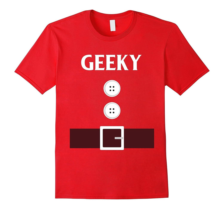 Geeky Dwarf Costume Funny Cute Halloween Tshirt-FL