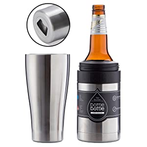 BOTTLE BOTTLE Beer Bottle Insulator - Beer Can Cooler Holder