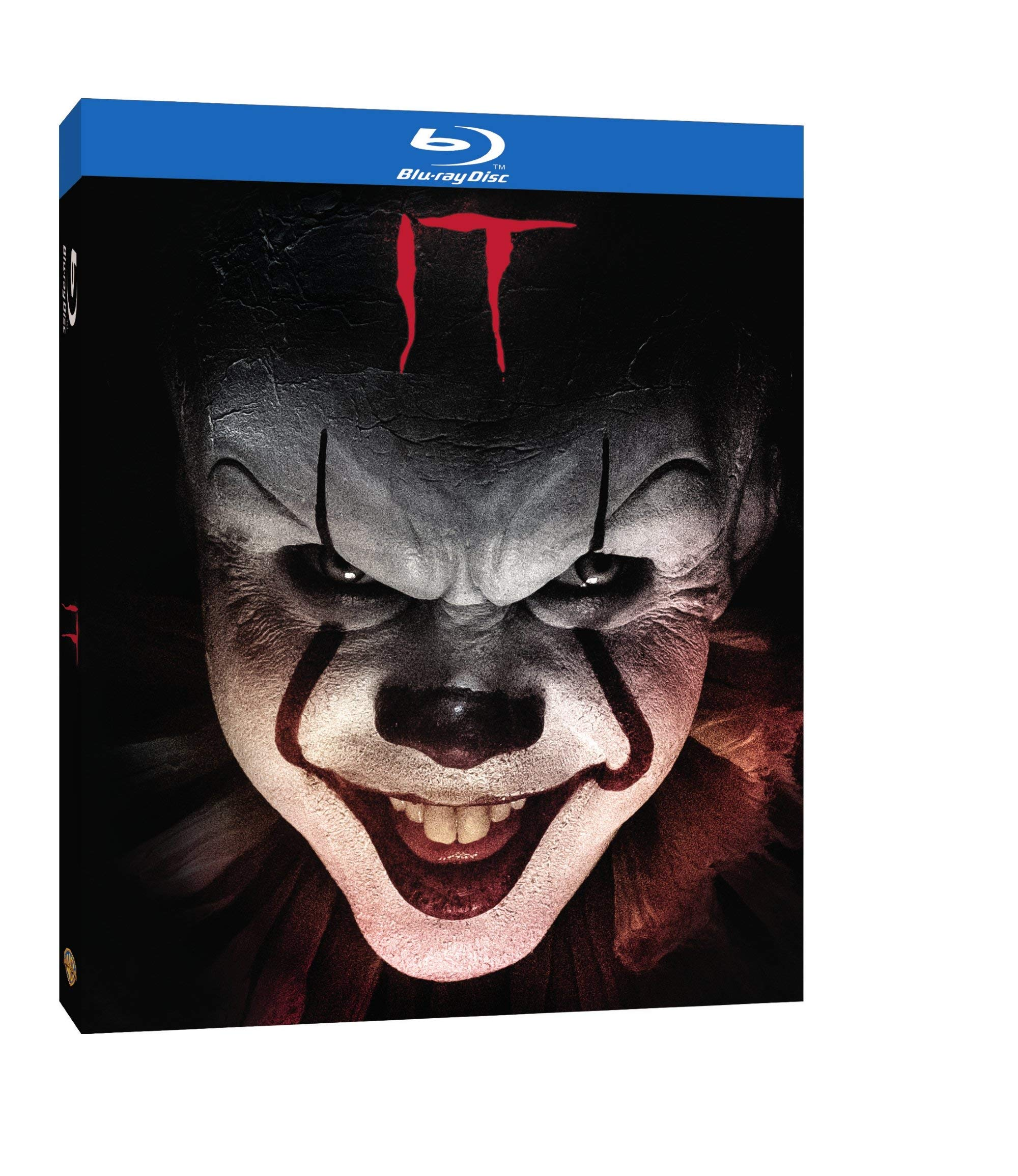 Blu-ray : It (With DVD, Eco Amaray Case, Digital Copy)
