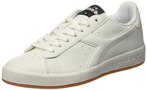 Diadora Game P, Zapatillas de Gimnasia para Hombre, Blanco Bianco, 41 EU