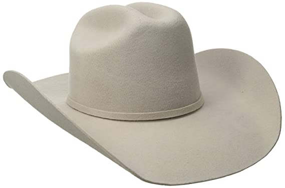 22f01420563 Twister Men s Dallas 2X Wool Cowboy Hat Silverbelly at Amazon Men s ...