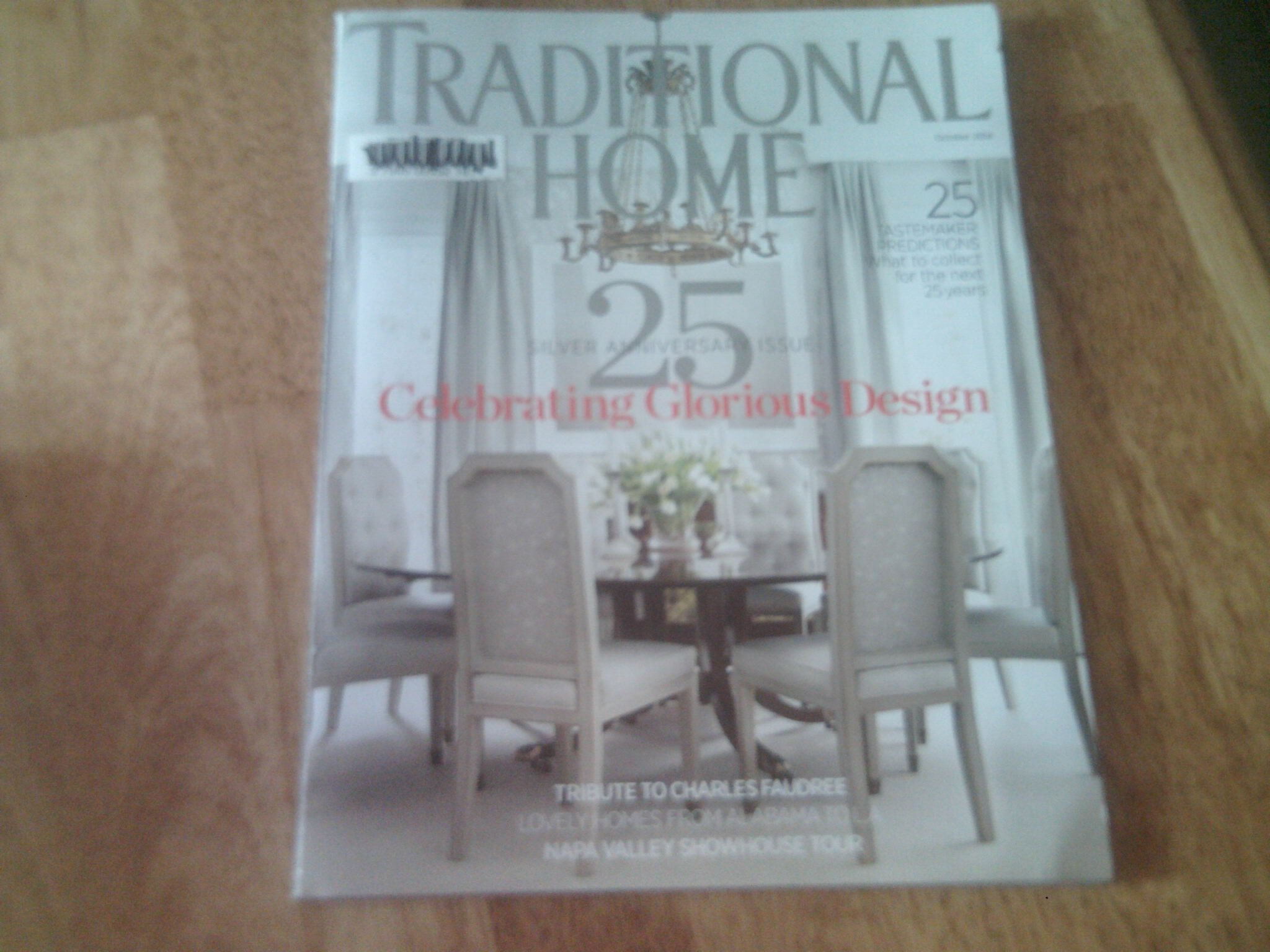 Traditional Home 2014 October - Silver 25 Anniversary Issue pdf epub