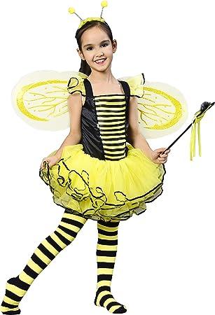 Amazon.com: IKALI Disfraz de abeja para niñas de 2 años ...