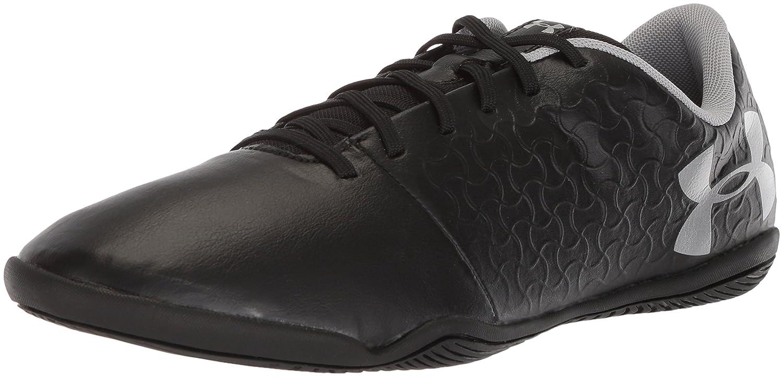 Under Armour Men's Magnetico Select Indoor Soccer Shoe B072J3D639 9.5 M US|Black (001)/Metallic Silver