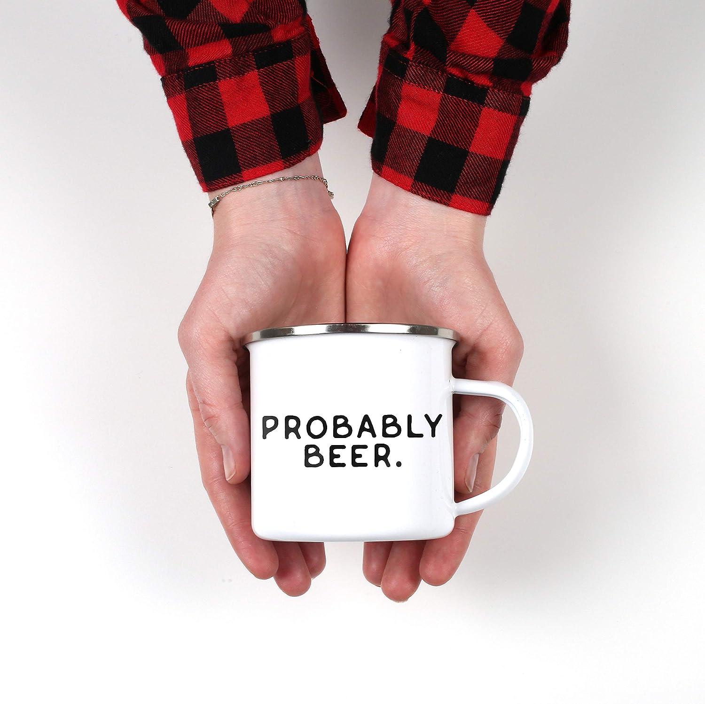 Probably Whiskey Camp Mug Probably Wine Campfire Mug Probably ...