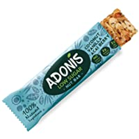 Adonis Low Sugar Crunchy Vanilla Snack Bars | 100% Natural, Low Carb, Vegan, Gluten Free, Keto, Paleo (10)