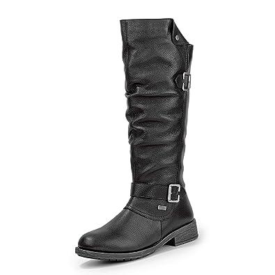 Remonte Stiefel in Übergrößen Schwarz D8075 02 große