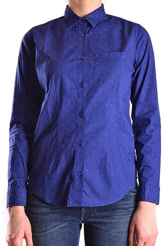 Sun 68 Mujer MCBI286029O Azul Algodon Camisa