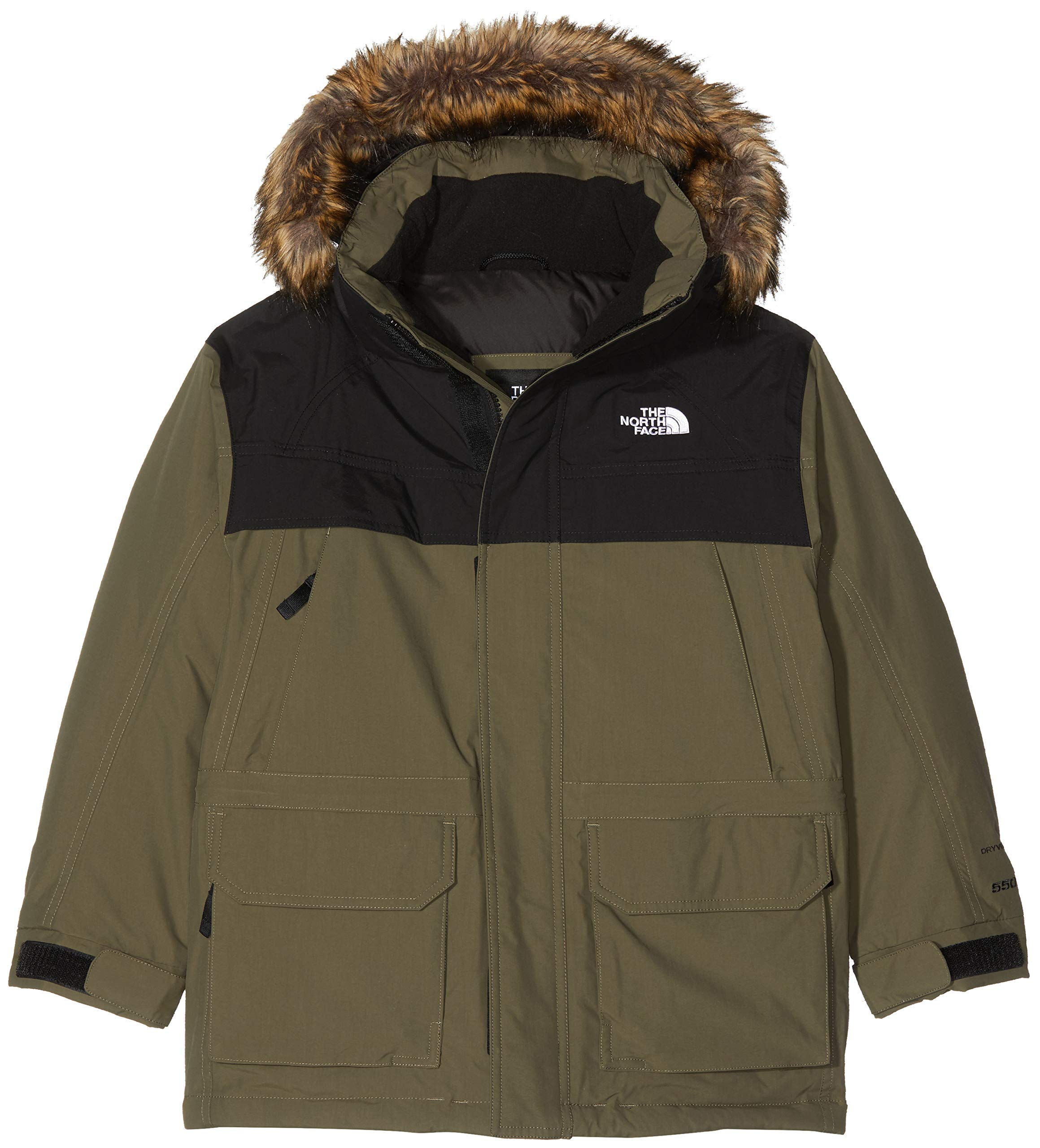 The North Face TNF - Chaquetas, Niños, Verde (New Taupe Green), M