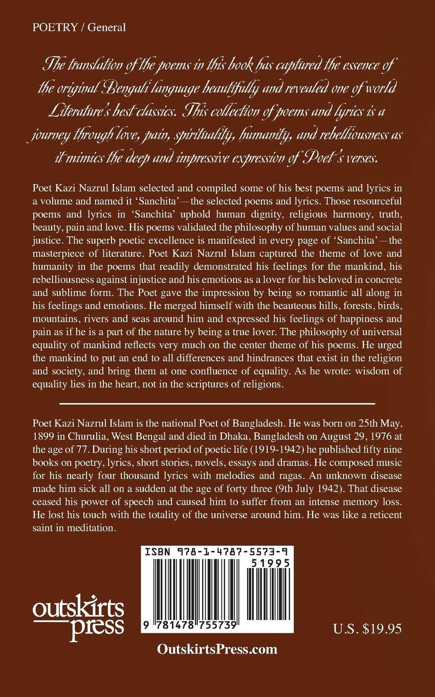 Sanchita: Selected Poems and Lyrics of Poet Kazi Nazrul Islam ...