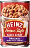 Heinz Home Style Beans, Brown Sugar & Bacon, 16 Ounce (Pack of 12)