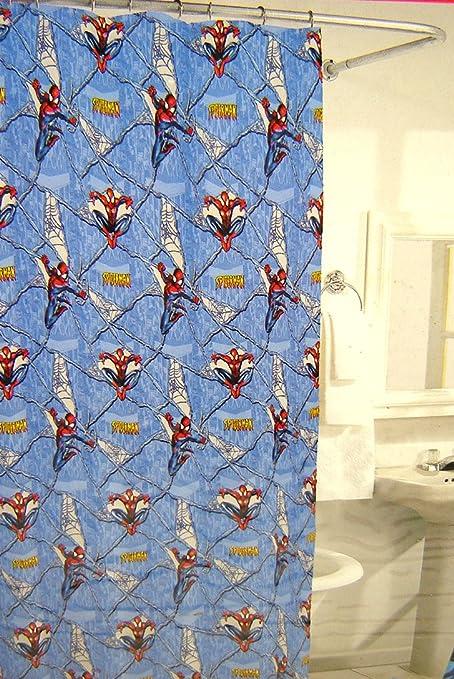 Amazon Spiderman Shower Curtain Home Kitchen