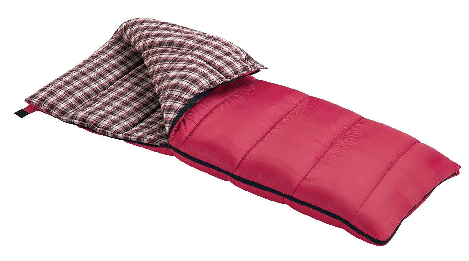 Amazon Wenzel Cardinal 30 Degree Sleeping Bag Red Pink Sports Outdoors