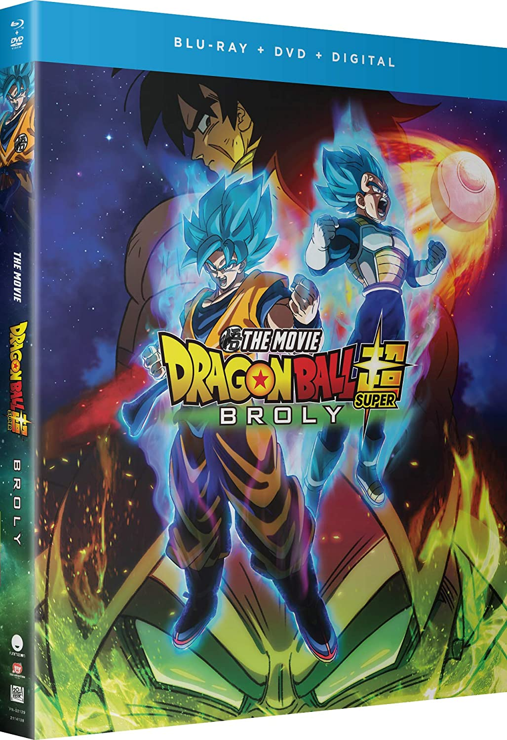 Amazon com: Dragon Ball Super : Broly - The Movie [Blu-ray