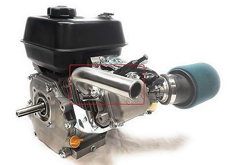 ARSPORT Exhaust Pipe for: Predator 212cc Non-HEMI & Predator HEMI  Go Kart  & Mini Bikes