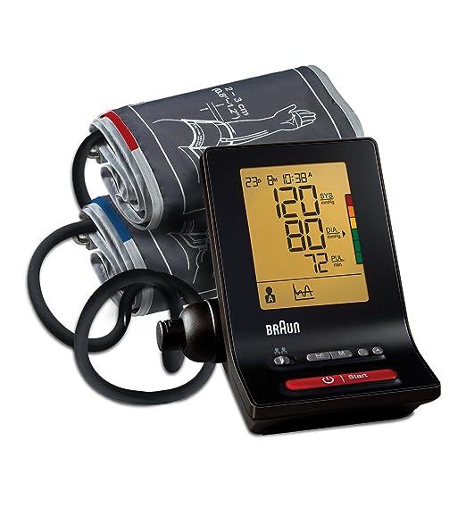 39 opinioni per Braun BP6200 ExactFitTM 5 Misuratore Automatico della Pressione da Braccio con