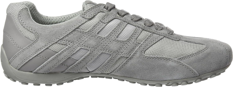 Geox Men's Snake 125 Sneaker Light Grey