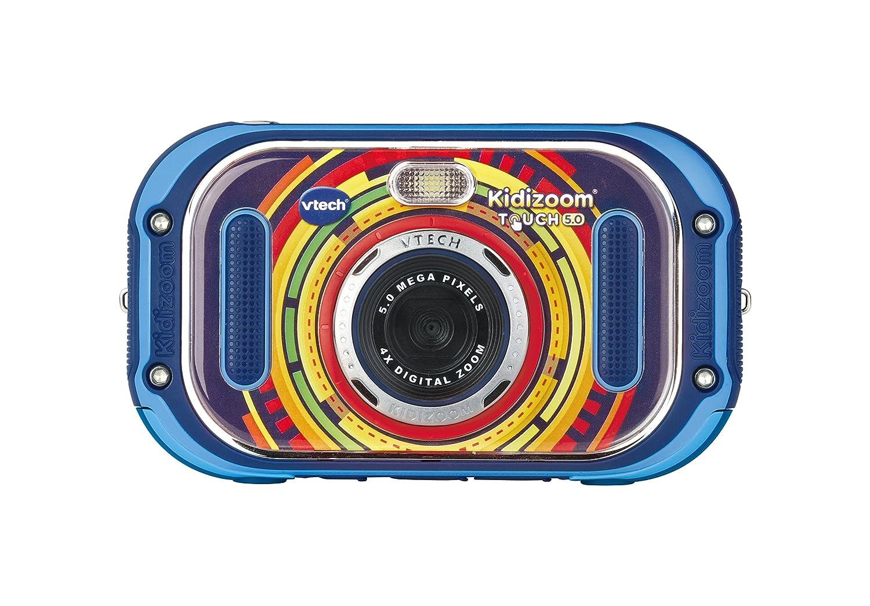 VTech Kidizoom Touch 5.0 - Electrónica para niños (Kids Digital Camera, Blue, 5 yr(s), Boy/Girl, 12 yr(s), LCD)