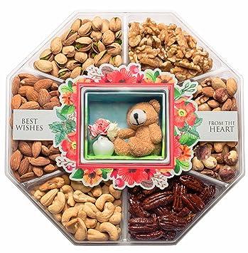 Amazon.com : JUMBO Happy New Year Holiday Gift Baskets Fresh Variety ...