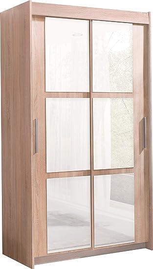 Amazonde Marke Neues Modernes 2 Tür Schiebetür Kleiderschrank