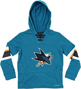 Reebok NHL Youth Offside Poly Fleece Pullover Hoodie, Team Options