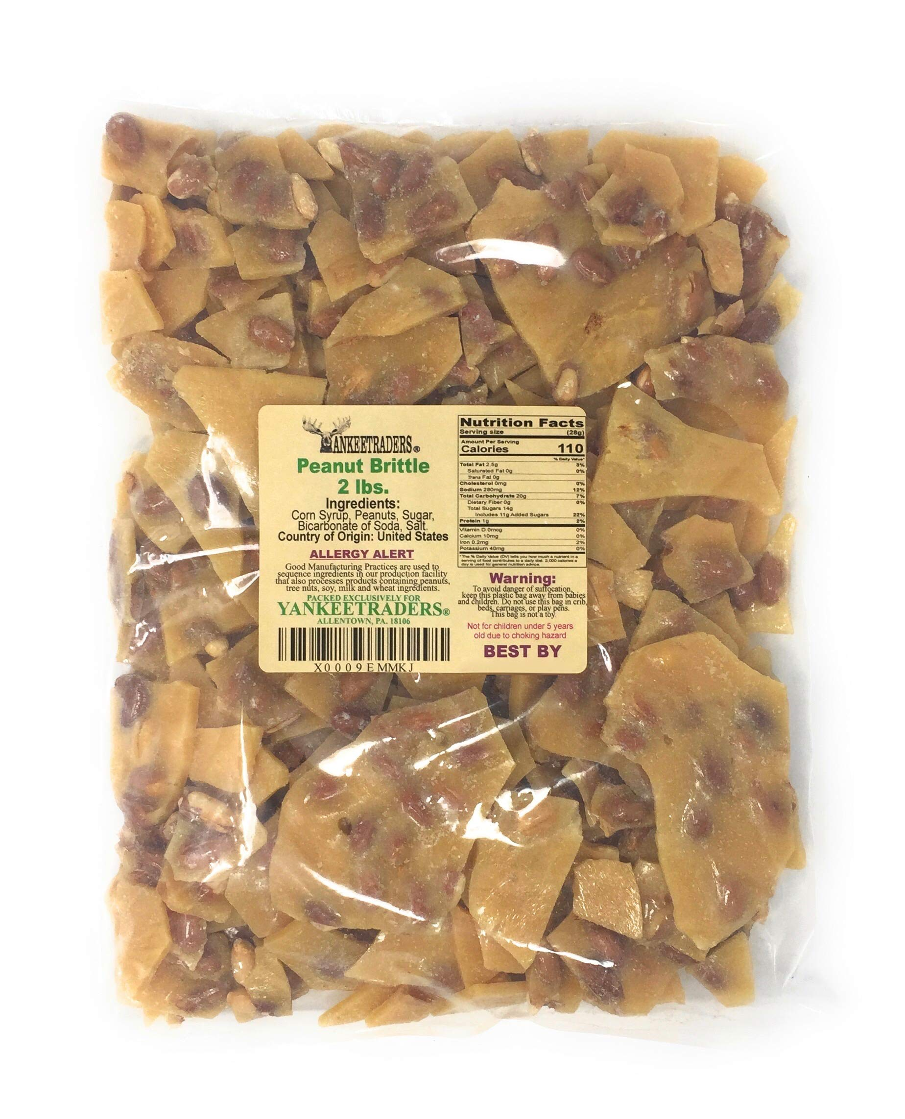 Yankee Traders Brand Home Style Peanut Brittle Candy, 2 Pound by YANKEETRADERS (Image #2)