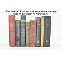 Decorative Books for Designers for Decoration- Distressed Canvas