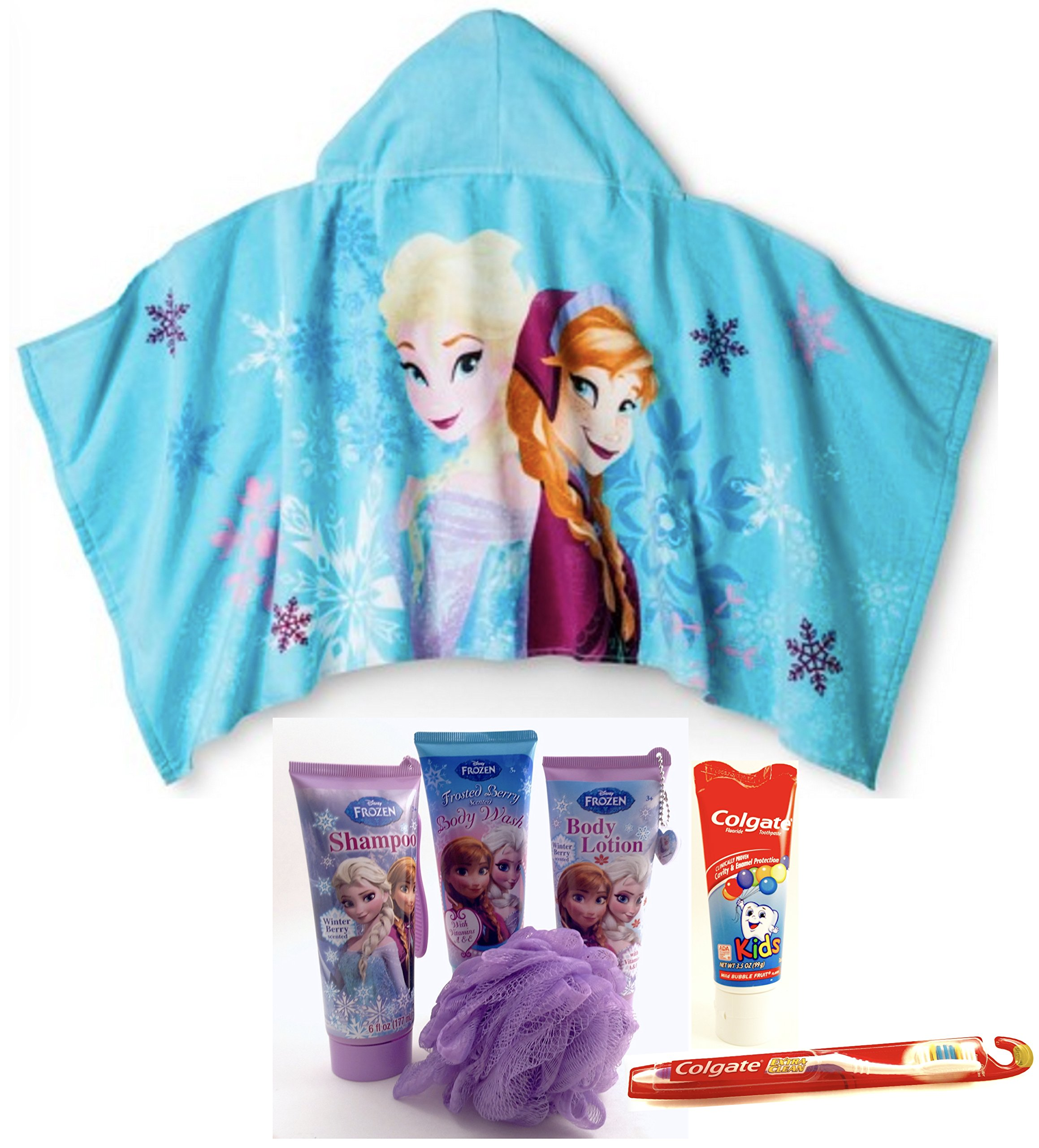Disney Frozen Bath & Body Gift Set 7 Piece Bundle by Disney