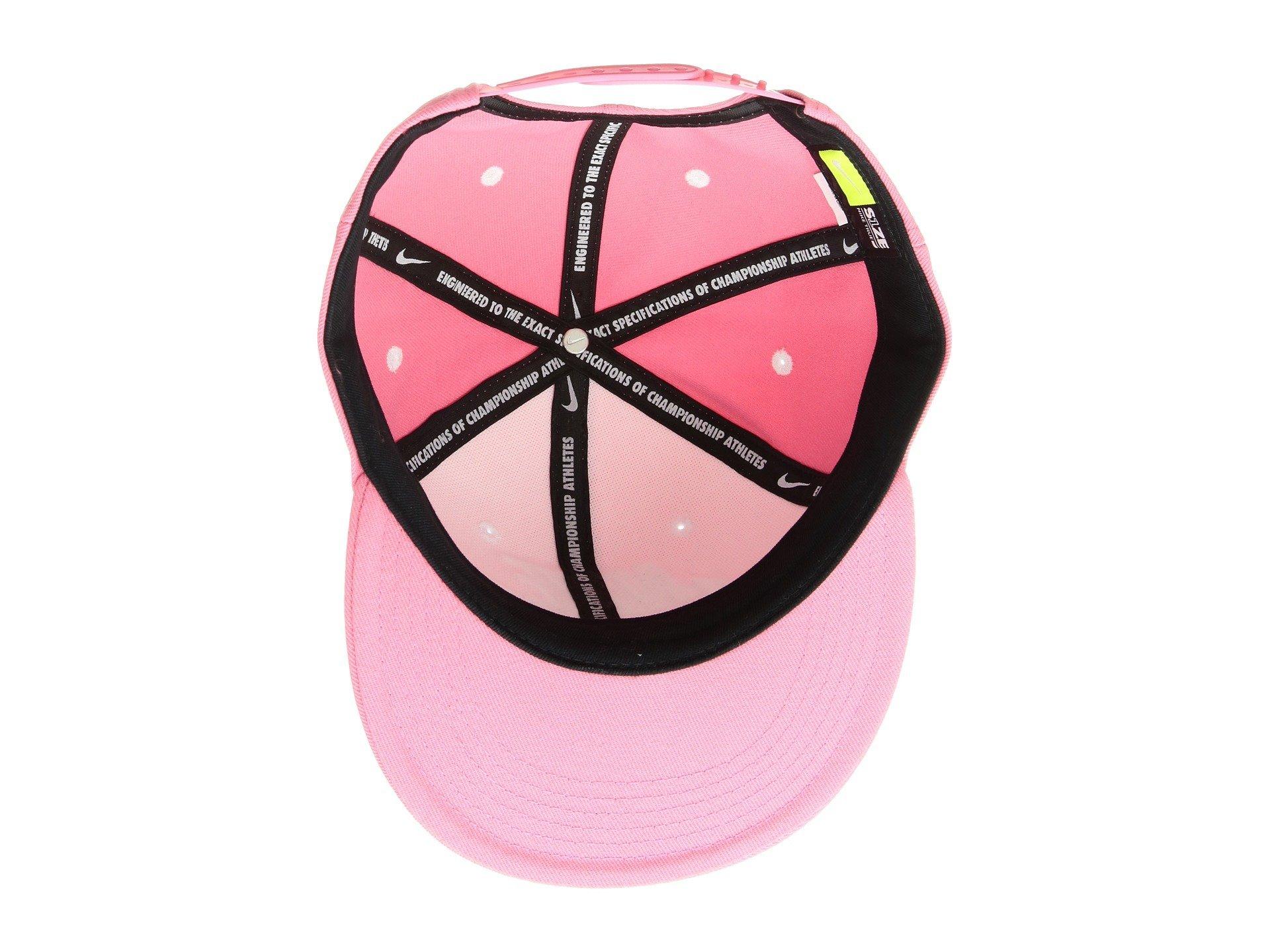 Nike Futura True Cap Youth Pink Nebula Black White by Nike (Image #4)