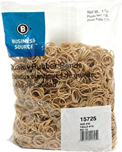 Business Source Size 10 Rubber Bands (15725)