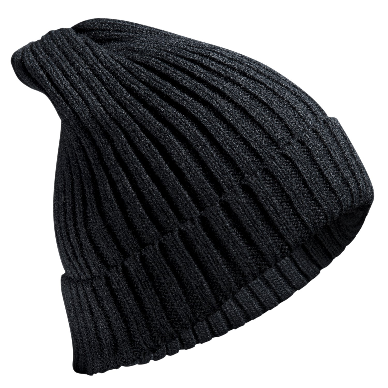 FREETOO Beanie Hat Knit Beanie Winter Black Knitted Beanie Hat Keeps Warm and Stylish for Unisex Men Women for Winter Ski Outdoor