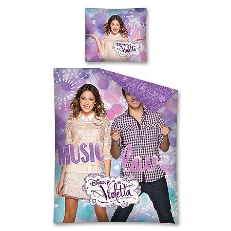 Funda nordica Violetta Music Love 160x200cm: Amazon.co.uk: Kitchen