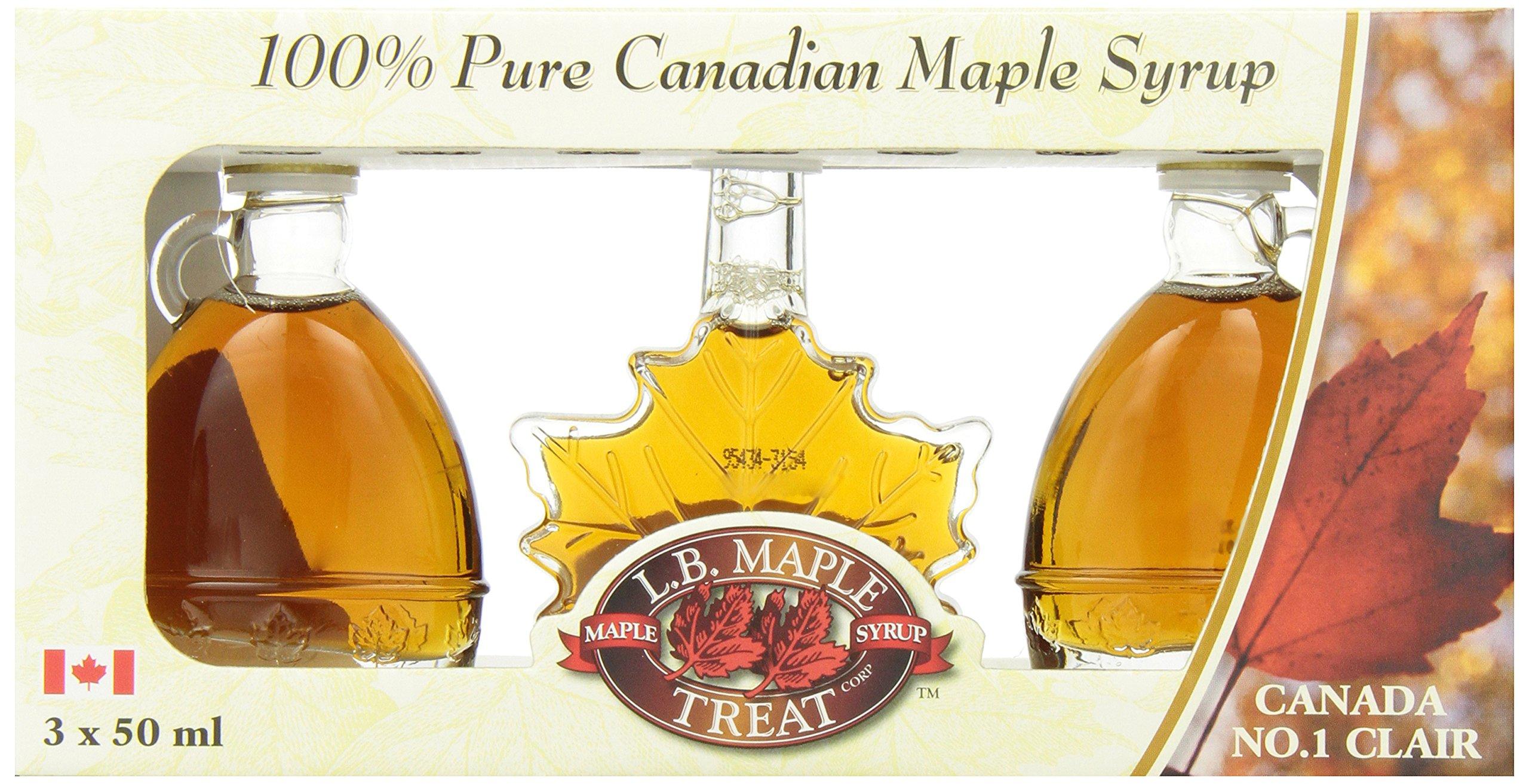 CDM product L B Maple Treat Maple Syrup in Fancy Glass Gift Box, 150ml/5.07fl oz big image