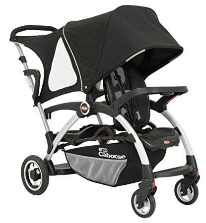 e38de3bb4a8a Amazon.com   Joovy Ergo Caboose Tandem Stroller Black (Discontinued by  Manufacturer)   Double Strollers For Infant And Toddler   Baby