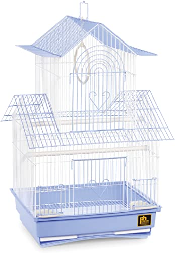Prevue Hendryx SP1720-2 Shanghai Parakeet Cage, Blue and White