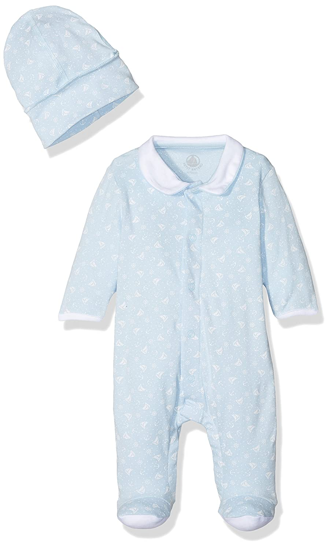 Petit Bateau Baby-Jungen Bekleidungsset Mehrfarbig (Toudou/Ecume 84) 27599